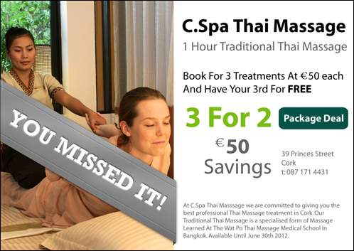 The Spa Deal In Cork