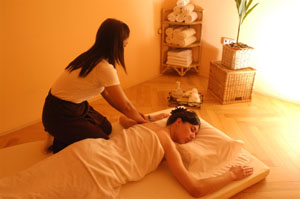 Male to male massage cork