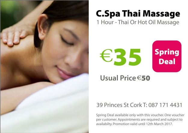 Cork Thai Massage Deal